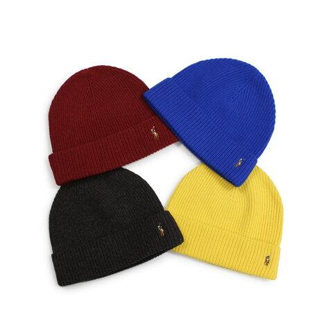 ポロ ラルフローレン POLO RALPH LAUREN ニット帽 ニットキャップ ビーニー メンズ レディース メリノウール SIGNATURE MERINO CUFF HAT 6F0101 [1/10 新入荷]