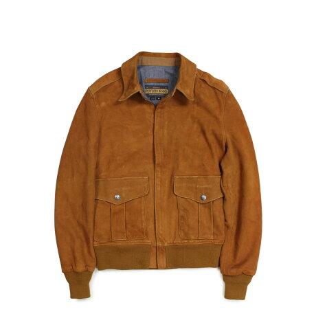ショット Schott ジャケット スエードジャケット メンズ MEN SUEDE JACKET ブラウン [1/8 新入荷]
