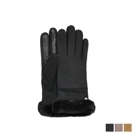 UGG アグ 手袋 グローブ レディース SEAMED TECH GLOVE スマホ対応 ブラック グレー ブラウン 17371BX [予約商品 12/27頃入荷予定 新入荷]