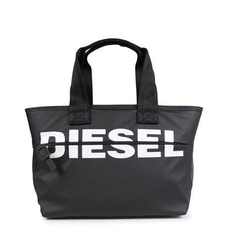 ディーゼル DIESEL バッグ トートバッグ レディース メンズ F-BOLD SHOPPER FL ブラック X05526 P1705 [1/10 新入荷]