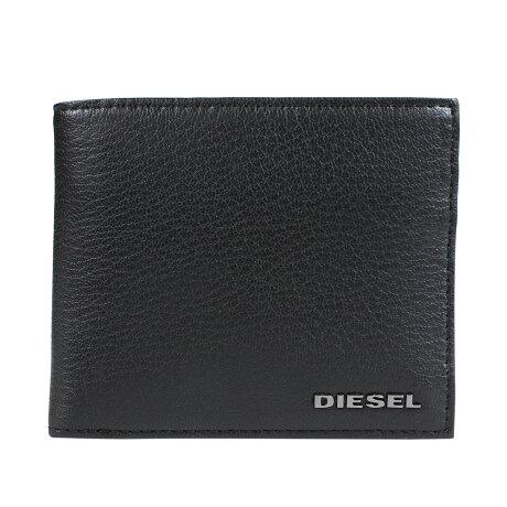 ディーゼル DIESEL 財布 二つ折り メンズ レザー ARIANO 24 A DAY ブラック X05985 P0396 [1/16 新入荷]