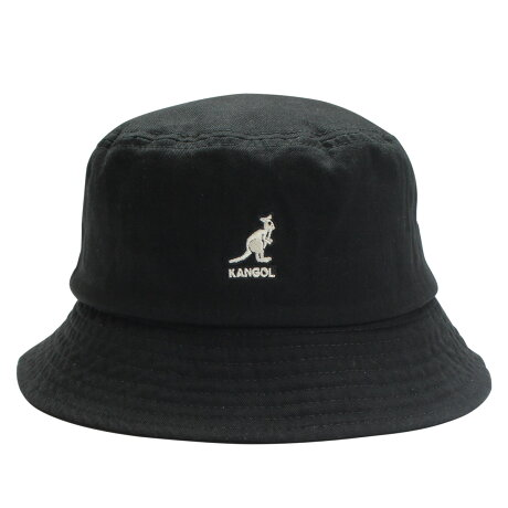 KANGOL WASHED BUCKET カンゴール ハット キャップ 帽子 バケットハット メンズ レディース ブラック ネイビー ベージュ オリーブ 黒 100169215 [予約 9月中旬 追加入荷予定]