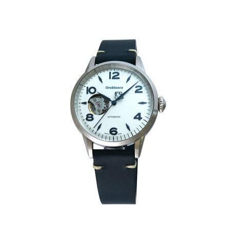 Orobianco EVOLUZIONE オロビアンコ 時計 腕時計 メンズ 自動巻き アナログ ブラック ネイビー 黒 OR0076