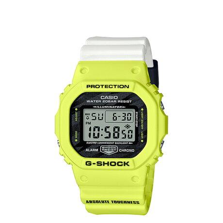 CASIO カシオ 腕時計 DW-5600TGA-9JF ジーショック Gショック G-ショック メンズ レディース イエロー [予約 8月下旬 再入荷予定]