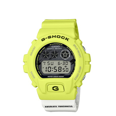 CASIO カシオ 腕時計 DW-6900TGA-9JF ジーショック Gショック G-ショック メンズ レディース イエロー [予約 9月下旬 再入荷予定]