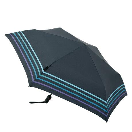 Knirps TS.220 クニルプス 折りたたみ傘 折り畳み傘 軽量 コンパクト メンズ レディース 雨傘 53cm 6本骨 ワンタッチ 自動開閉 かさ ストライプ ブルー KNTSL220