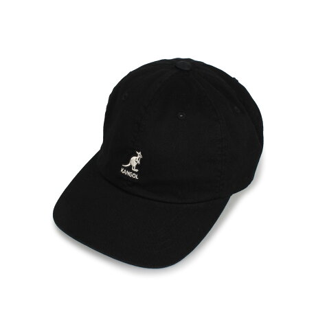 KANGOL WASHED BASEBALL カンゴール キャップ 帽子 メンズ レディース ブラック ホワイト ネイビー カーキ 黒 白 105169002 [予約 8月下旬 追加入荷予定]