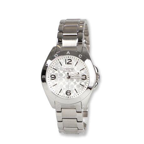 COACH TRISTEN コーチ 腕時計 レディース シグネチャー シルバー 14501778 [予約 9月上旬 再入荷予定]