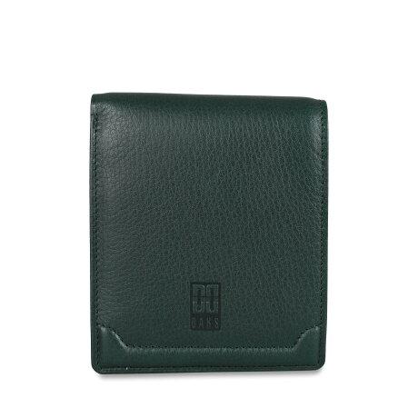 DAKS WALLET ダックス 二つ折り財布 メンズ ブラック ダーク ブラウン グリーン 黒 DP21213 [予約 8月下旬 追加入荷予定]
