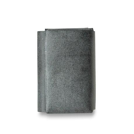 FABRIK WALLET ファブリック 三つ折り財布 メンズ レディース 本革 ブラック ブラウン レッド ブルー ダーク グリーン 黒 F20016 [予約 9月上旬 追加入荷予定]