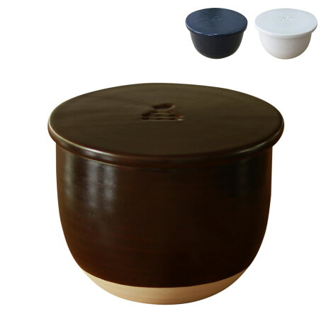かもしか道具店 OR-60-033 飯椀 茶碗 陶の飯びつ ふつう 1.5合 電子レンジ対応 日本製 [予約 9月上旬 再入荷予定]