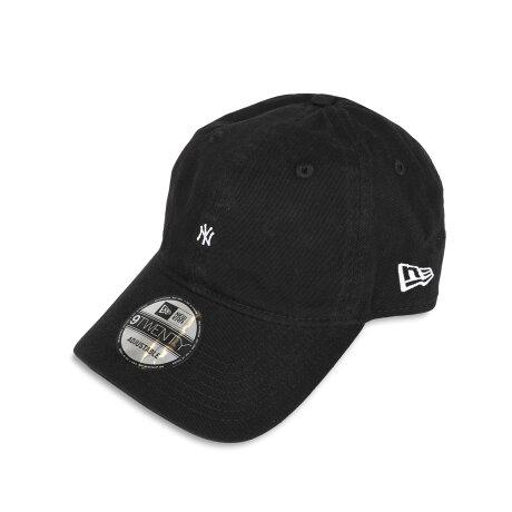 NEW ERA 9TWENTY NEYYAN MICRO ニューエラ キャップ 帽子 ニューヨーク ヤンキース マイクロロゴ メンズ レディース ブラック カーキ 黒 12854055