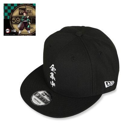 NEW ERA 950 KIMETSU ZENSYUCHU ニューエラ キャップ 帽子 メンズ レディース 鬼滅の刃 全集中 コラボ スナップバック ブラック 黒 12864456