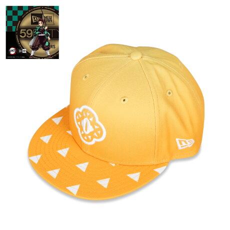 NEW ERA 950 KIMETSU TSUBA ZENITSU ニューエラ キャップ 帽子 メンズ レディース 鬼滅の刃 我妻善逸 コラボ スナップバック イエロー 12864457