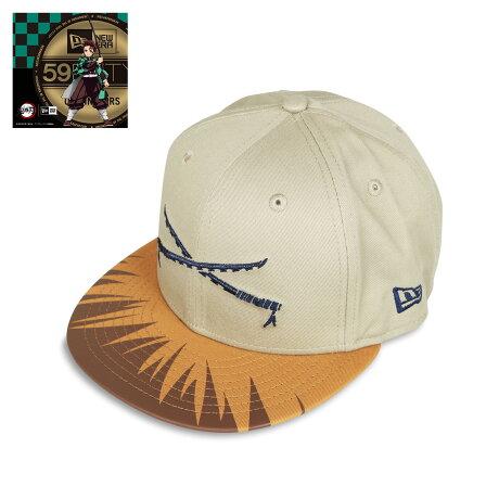 NEW ERA 950 KIMETSU KATANA INOSUKE ニューエラ キャップ 帽子 メンズ レディース 鬼滅の刃 嘴平伊之助 コラボ スナップバック ベージュ 12864460