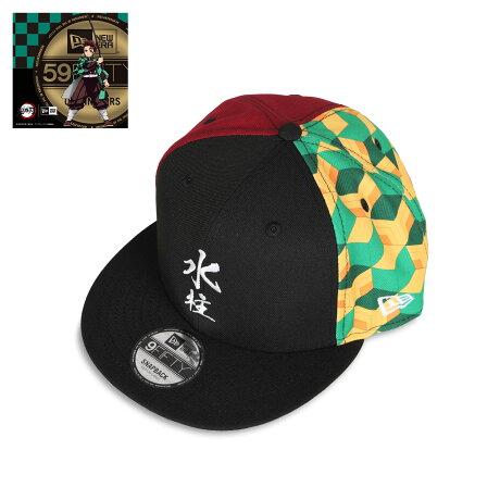 NEW ERA 950 KIMETSU GIYU HAORI MIZU ニューエラ キャップ 帽子 メンズ レディース 鬼滅の刃 冨岡義勇 コラボ スナップバック ブラック 黒 12864463