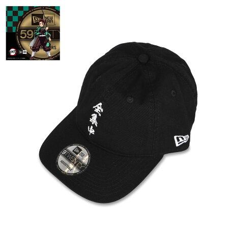 NEW ERA 920 KIMETSU ZENSYUCHU ニューエラ キャップ 帽子 メンズ レディース 鬼滅の刃 全集中 コラボ ストラップバック ブラック 黒 12864498