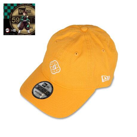 NEW ERA 920 KIMETSU TSUBA ZENITSU ニューエラ キャップ 帽子 メンズ レディース 鬼滅の刃 我妻善逸 コラボ ストラップバック イエロー 12864499