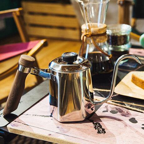 Oregonian Camper HEXA POT オレゴニアンキャンパー ドリップポット コーヒーポット ケトル 600ml ヘキサポット シルバー ODP-2014 [予約 9月下旬 再入荷予定]