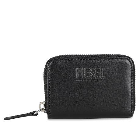 DIESEL JAPAROUND WALLET ディーゼル 財布 小銭入れ コインケース メンズ ラウンドファスナー ブラック 黒 X07713PR818