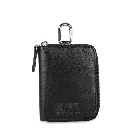 DIESEL CLE WALLET ディーゼル キーケース メンズ ラウンドファスナー 6連 ブラック 黒 X08099PR818