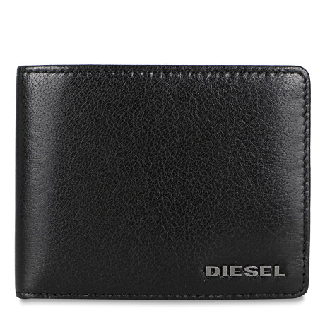 DIESEL NEELA XS WALLET ディーゼル 二つ折り財布 メンズ デニム ブラック 黒 X08181P4229
