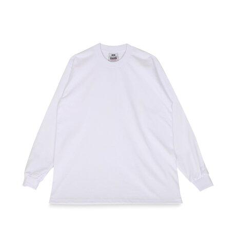 PRO CLUB HEAVY WEIGHT LONG SLEEVE TEE プロクラブ Tシャツ 長袖 メンズ レディース ブラック ホワイト グレー ネイビー 黒 白 114