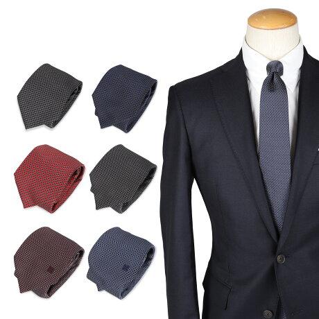GIVENCHY TIE ジバンシィ ネクタイ メンズ ブランド 結婚式 シルク ブラック ネイビー ワインレッド レッド ブルー ダークグリーン 黒 210902-01