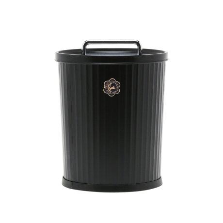 ツキウサギジルシ 月兎印 ゴミ箱 収納ボックス ふた付き 日本製 テーパーバケット ぶんぶく BUNBKUブラック ホワイト グレー 黒 白 [予約 9月下旬 新入荷予定]