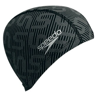 Speedo 速度游泳帽游泳帽游泳帽帽子帽男士女士游泳矽膠帽 [排除]