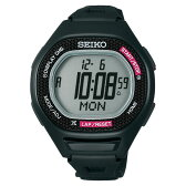 セイコー SEIKO スーパーランナーズ 腕時計 S611 ブラック×ピンク スポーツショップ限定カラー [ あす楽対象外 ] 【NEW】