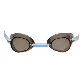 Soltek 固體技術黑煙賽車護目鏡正常類型、 4 個 DM 的游泳鏡,游泳泳鏡游泳游泳護目鏡 [排除]