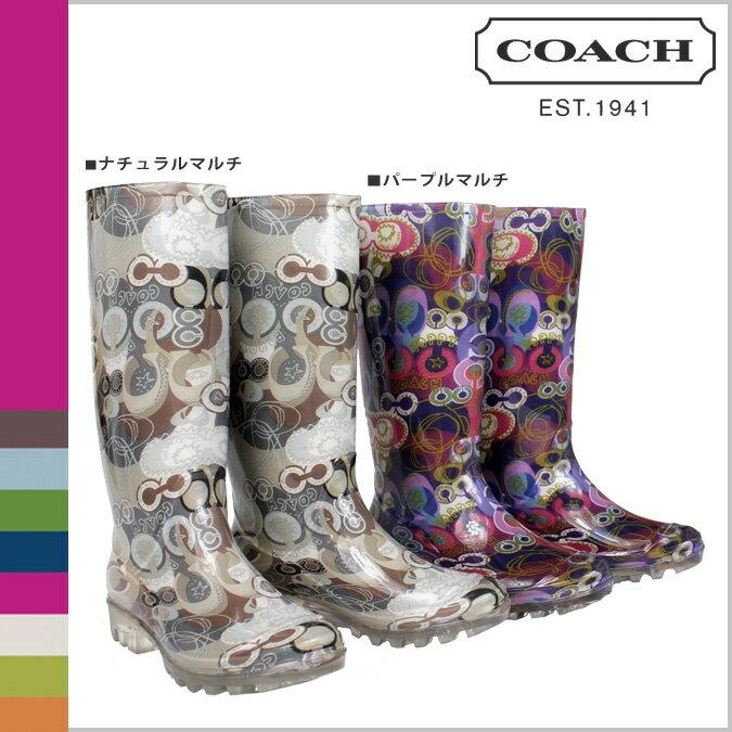 ALLSPORTS | Rakuten Global Market: Coach head COACH rain boots ...