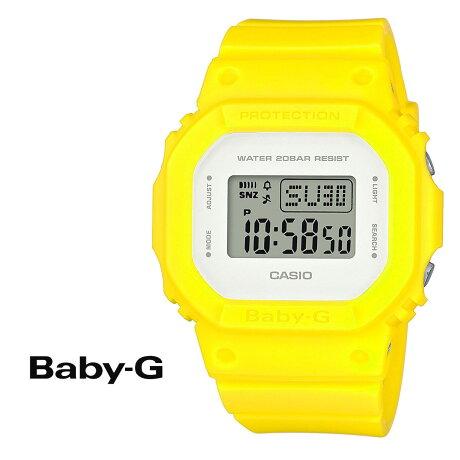CASIO BABY-G カシオ 腕時計 BGD-560CU-9JF BABY G ベビージー ベビーG レディース 時計 イエロー