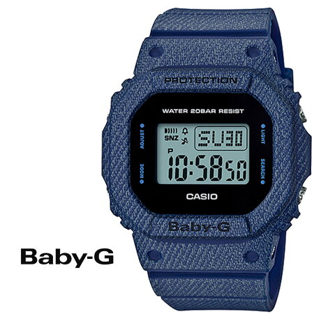 CASIO BABY-G カシオ 腕時計 BGD-560DE-2JF BABY G ベビージー ベビーG デニム ブルー レディース 防水 [177]