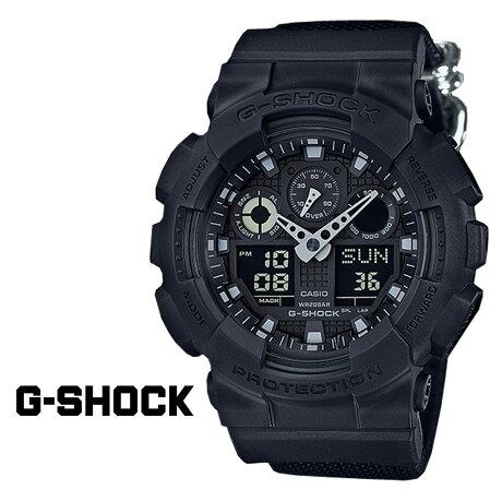CASIO G-SHOCK カシオ 腕時計 GA-100BBN-1AJF ブラック Gショック メンズ ジーショック [172]