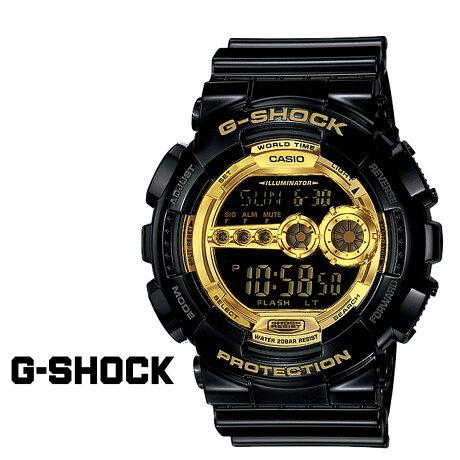 CASIO G-SHOCK カシオ 腕時計 GD-100GB-1JF BLACK GOLD SERIES ジーショック Gショック G-ショック メンズ レディース
