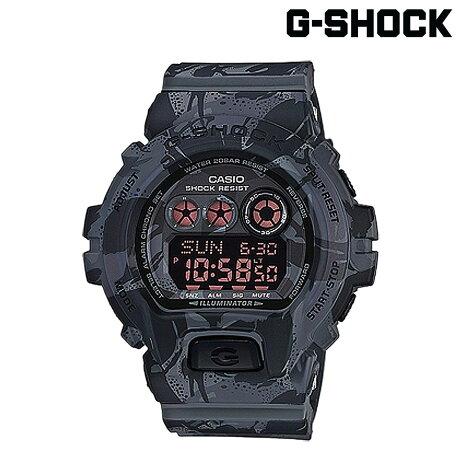 CASIO G-SHOCK カシオ 腕時計 GD-X6900MC-1JR CAMOUFLAGE SERIES Gショック G-ショック ブラック カモ 迷彩 メンズ レディース