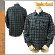 【訳あり】 Timberland ティンバーランド 長袖 ボタンシャツ ネルシャツ チェック 35686 グリーン メンズ