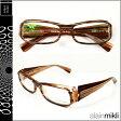 アランミクリ alain mikli メガネ 眼鏡 ブラウン BWN-27 AL0511 0110 セルフレーム サングラス メンズ レディース