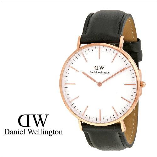 Daniel Wellington ダニエルウェリントン 40mm 腕時計 メンズ CLASSIC SHEFFIELD ローズゴールド