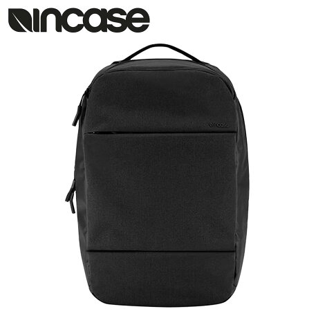 INCASE CITY COLLECTION COMPACT BACKPACK インケース リュック バックパック CL55452 メンズ ブラック [予約商品 1/22頃入荷予定 再入荷] [191]