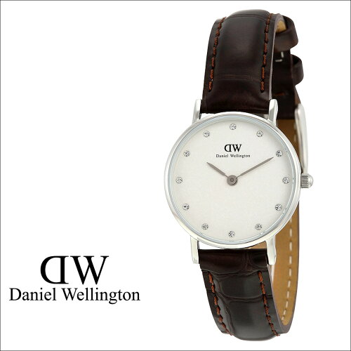 Daniel Wellington ダニエルウェリントン 26mm 腕時計 レディース 0922DW CLASSY YORK シルバー レ...