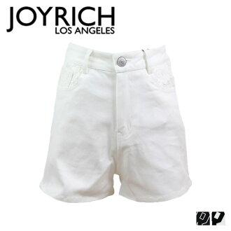 Joyrich JOYRICH 短褲高腰短褲 2 色 RJ 棒球高腰短褲女裝