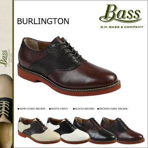 送料無料 ジーエイチバス G.H. BASS サドルシューズ [4カラー ] BURLINGTON Dワイズ レザー メンズ バーリントン [10/23 追加入荷][ 正規 ] 【クリスマス】
