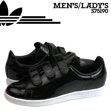 adidas Originals アディダス オリジナルス スタンスミス ベルクロ スニーカー STAN SMITH CF S75190 メンズ レディース 靴 ブラック