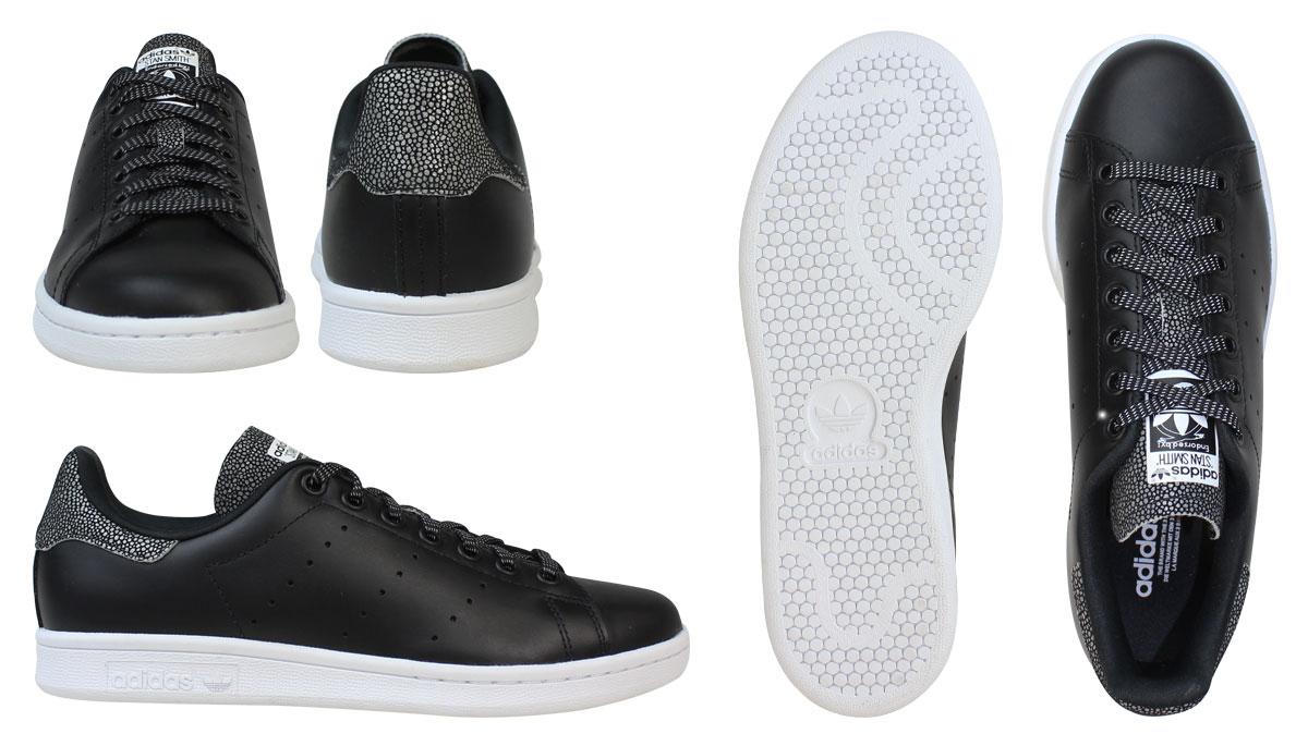 uk availability 835eb 1f929 adidas stan smith women black