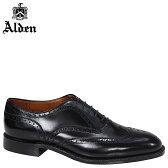 ALDEN オールデン ウイングチップ オックスフォード シューズ WING TIP BAL OXFORD Dワイズ 903 メンズ
