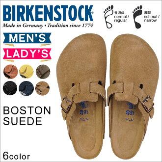 Birkenstock BIRKENSTOCK Boston BOSTON 6 color men's women's