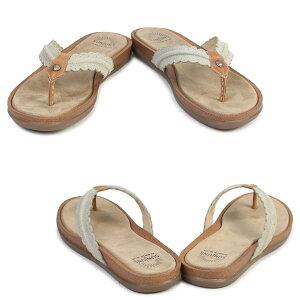 ジーエイチバスサンダルレディースG.H.BASSトングSAMANTHASCALLOPEDSUNJUNS71-23031靴ブラウン[6/22新入荷][177]